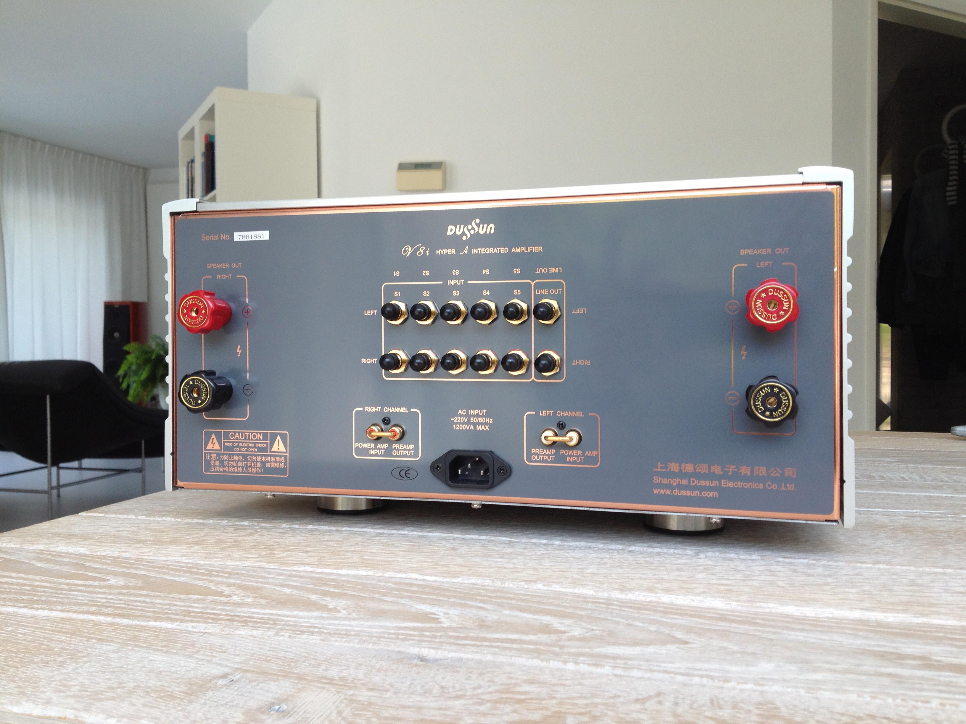 Wonderbaar Dussun V8i geïntegreerde versterker FF-94